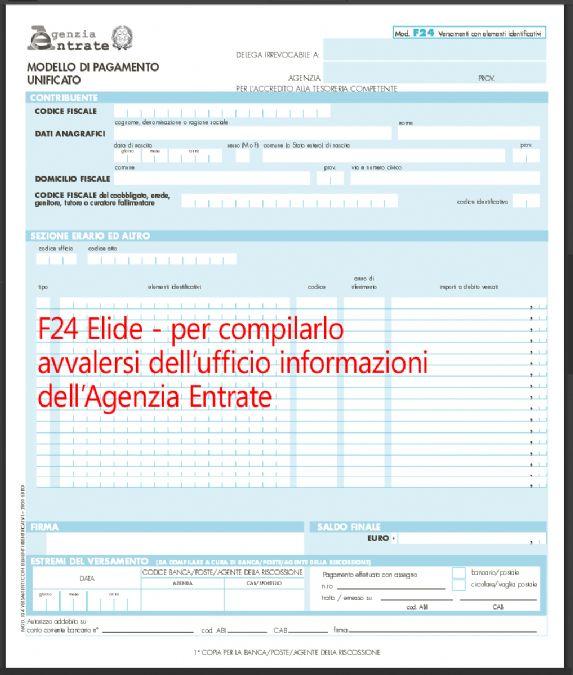 f 24 elide agenzia entrate bologna - photo#30