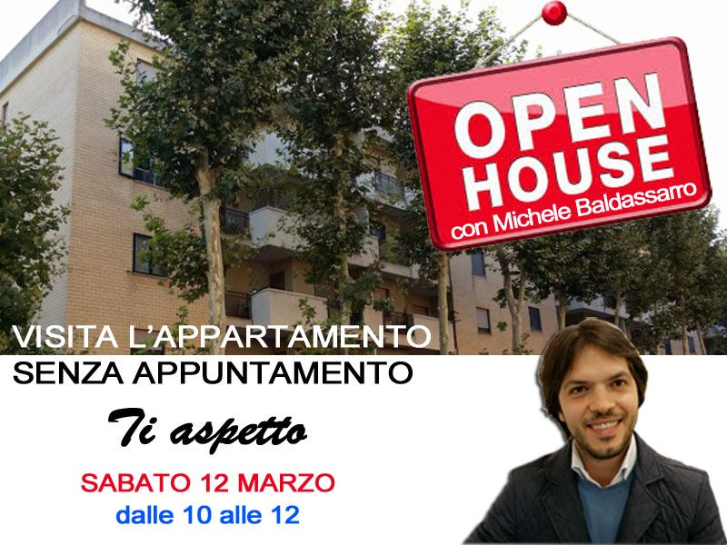 OPEN HOUSE in via Canova